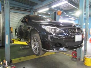 BMW M5 (E60) 静岡県のお客様1