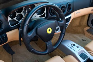 Ferrari 360モデナ 用 カーボン ロングパドル シフト2