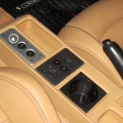 Ferrari 用 カーボン カップホルダー (F430/360/355/550/575)