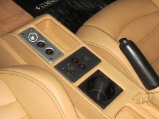Ferrari 用 カーボン カップホルダー (F430/360/355/550/575)1