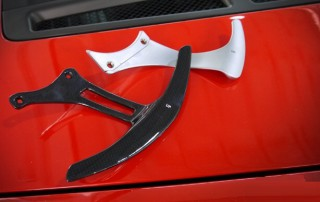 フェラーリ 各モデル 用 カーボン ロングパドル シフト3