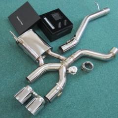 VW ゴルフR (R20) 用 iPE 可変バルブマフラー