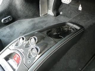 フェラーリ 458 用 カーボン カップホルダー2