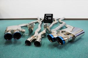 BMW F10 M5 可変バルブマフラー イノテック innotech