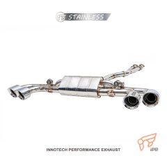 日産 GT-R R35 用 iPE フロントYパイプ+可変バルブマフラー