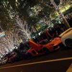 グランフロント大阪でスーパーカーカーニバル