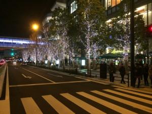 大阪 冬のイルミネーション