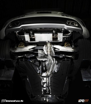 AMG A45 用 iPE 可変バルブマフラー2