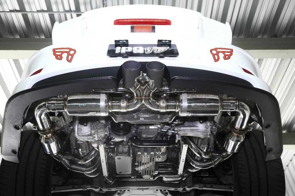 ポルシェ 911 991 GT3 RS 可変 バルブ マフラー リモコン サウンド
