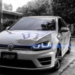 VW ゴルフ 7R 用 マフラーがまもなくリリース予定です!