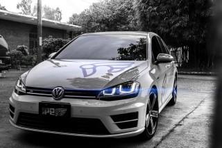 VW ゴルフ7 R 用 iPE 可変バルブマフラー [フルシステム]1