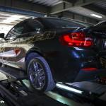 BMW M235i (F22) 用 iPE マフラー 新製品情報 公開しました
