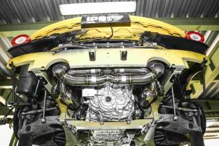 フェラーリ 458スペチアーレ用 iPE 可変バルブマフラー1