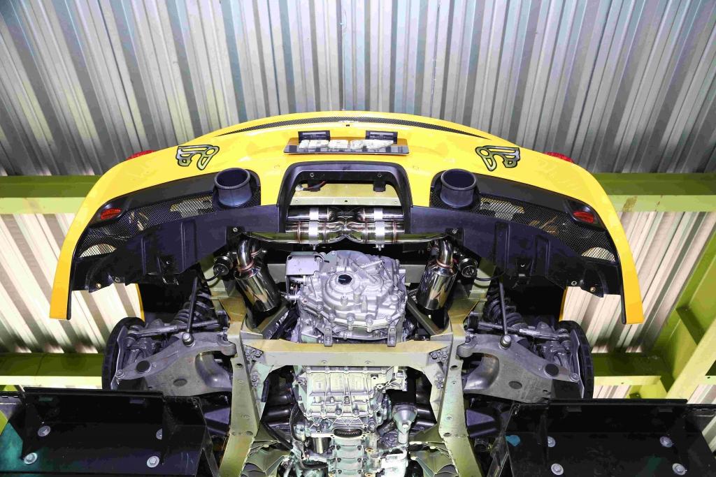 フェラーリ iPE 458 スペチアーレ 可変 バルブ マフラー