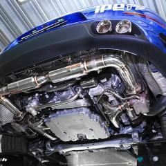 ポルシェ 991ターボ / ターボS 用 iPE 可変バルブマフラー [フルシステム]