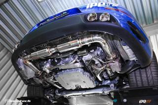 ポルシェ 991ターボ/ターボS 用 iPE 可変バルブマフラー3