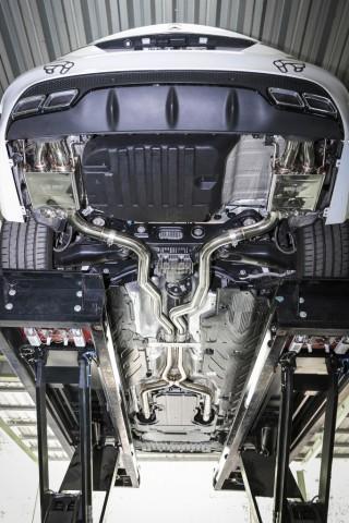 AMG C63 W205 用 iPE 可変バルブマフラー3