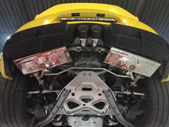 ポルシェ ケイマン GT4 iPE 可変 バルブ マフラー フルシステム