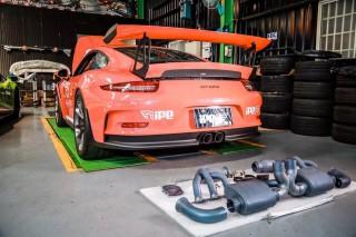 世界最速? 991 GT3 RS × iPE 可変バルブマフラー フルエキゾースト1