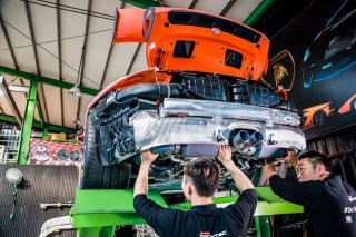 世界最速? 991 GT3 RS × iPE 可変バルブマフラー フルエキゾースト2