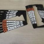 iPE(イノテック パフォーマンス エキゾースト) ナンバーフレーム