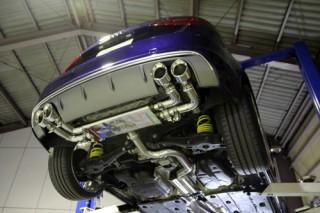 アウディ S3 8V × iPE 可変バルブマフラー1