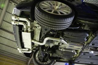アウディ S3 8V × iPE 可変バルブマフラー2