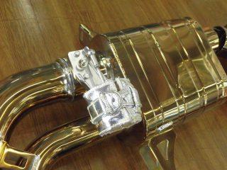 ランボルギーニ ウラカン LP610-4 × [チタン製] iPE 可変バルブマフラー3