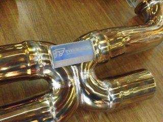 ランボルギーニ ウラカン LP610-4 × [チタン製] iPE 可変バルブマフラー4