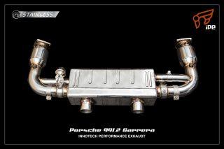 ポルシェ 991カレラ (後期) 用 iPE 可変バルブマフラー1
