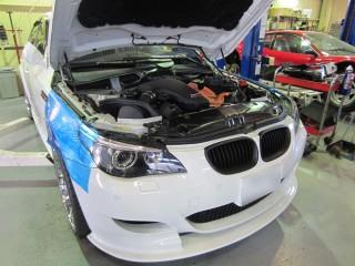 BMW M5 横浜のお客様1