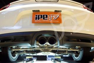 ポルシェ 981 ボクスター/ケイマン 用 iPE 可変バルブマフラー1