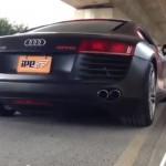 Audi R8 V8 4.2L用 iPE 可変バルブマフラー 新製品情報 公開しました