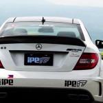 AMG C63 ブラックシリーズ x iPE