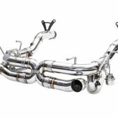 フェラーリ 458スペチアーレ用 iPE 可変バルブマフラー