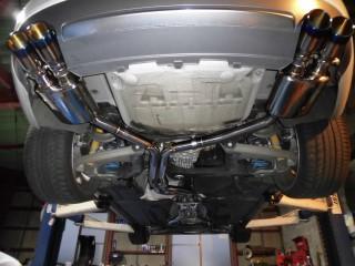 アウディ S5 B8 V8 (4200cc ) × iPE 可変バルブマフラー3