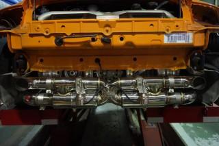 ポルシェ 997 ターボ × iPE 可変バルブマフラー3