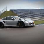 サーキット走行動画 ポルシェ 991 GT3RS 用 iPE 可変バルブ マフラー フルシステム