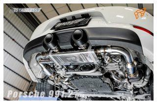 ポルシェ 991カレラ (後期) 用 iPE 可変バルブマフラー [フルシステム]3